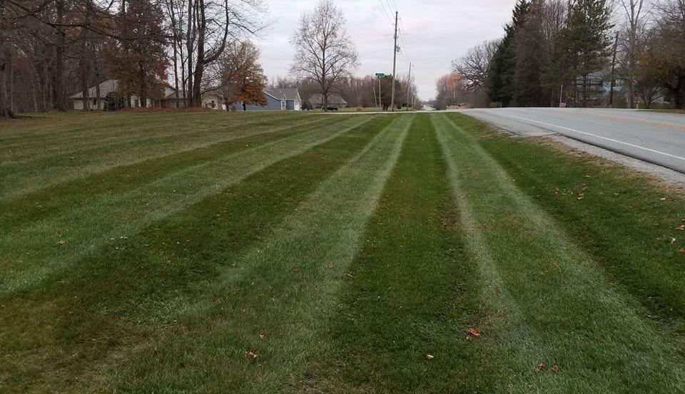 Vanbibber lawn carehome for Garden maintenance van